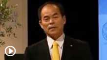 Shuji Nakamura lecturing