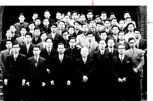 Classmates at University of Tokyo (1958)