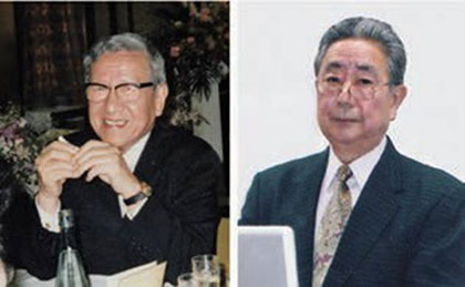 Kazutomo Imahori and Yasuhiro Anraku.