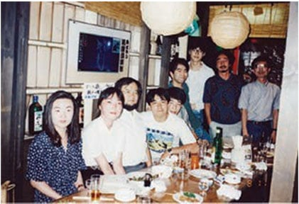First laboratory members at the University of Tokyo.
