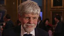 Professor Thors Hans Hansson in interview