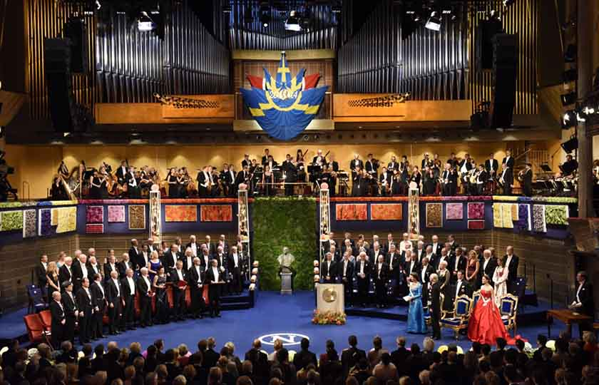the nobel prize award ceremonies and banquets nobelprize org