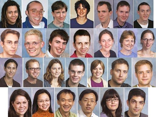 Members of lab (1996–2009)