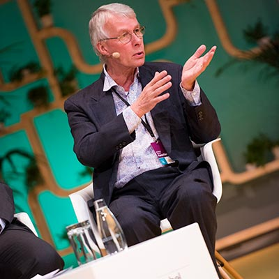 Richard Roberts at Nobel Week Dialogue 2016. Copyright © Nobel Media AB 2016.  Photo: Niklas Elmehed