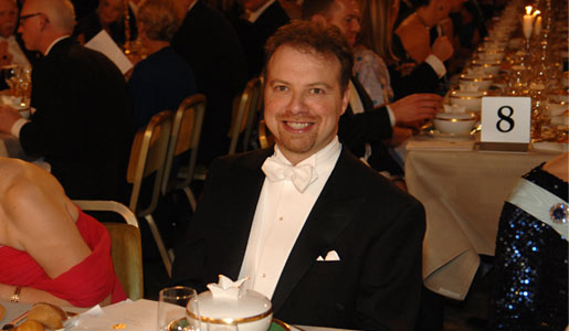 Adam G. Riess at the Nobel Banquet