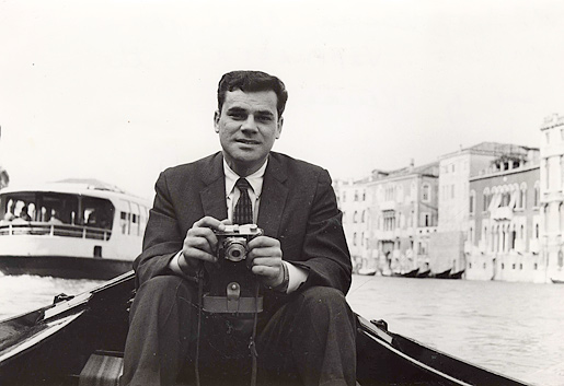 Martin Rodbell in Venice