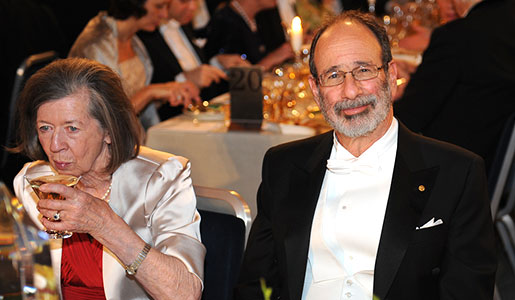Alvin E. Roth and Lady Jean Gurdon, wife of Medicine Laureate Sir John B. Gurdon, at the Nobel Banquet