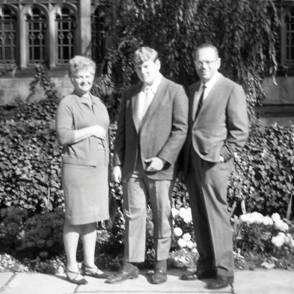 My parents Gloria and Martin Rothman bringing me to Yale as a freshman (1967). Photograph taken in front of Branford College, where I lived as an upper classman, and where my wife Joy Hirsch and I now live as Resident Fellows. Our children Matthew and Lisa both lived in Branford College, graduating from Yale in 2000 and 2004, respectively.