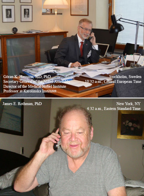 Göran K. Hansson and James E. Rothman