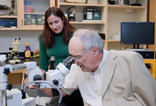 Bert Sakmann during a visit to Florida  Atlantic University