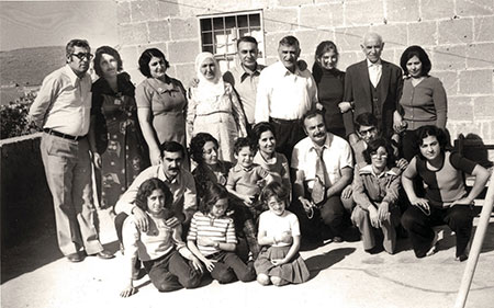 The Abdulgani and Meryem family in 1971