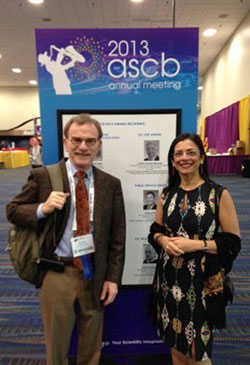 Randy Schekman at the ASCB meeting directly after Stockholm.