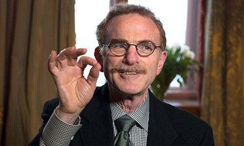 Randy W. Schekman during the interview with Nobelprize.org