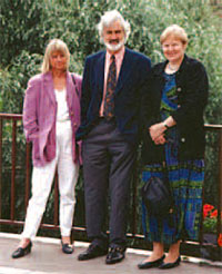 Karin and John Osborn with Nancy in 1996