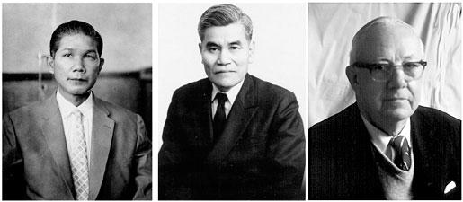 Three mentors