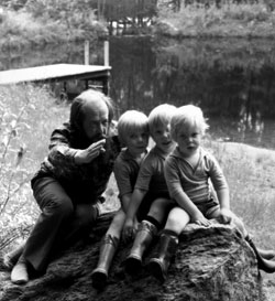 Solzhenitsyn and his children