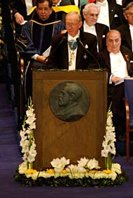 Professor Bengt Samuelsson