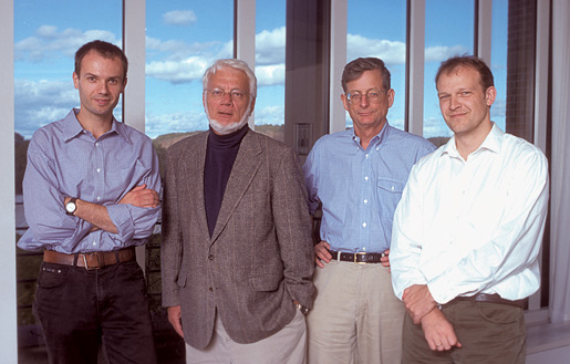 Thomas A. Steitz and the 'Ribosome Team' at Yale University.
