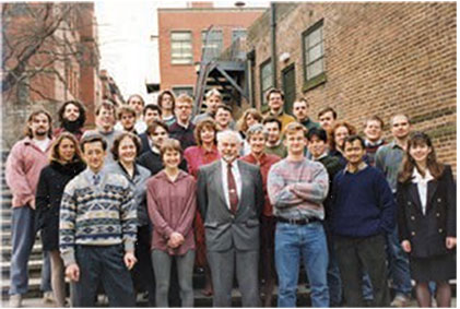 The research group at Birmingham c. 1995.