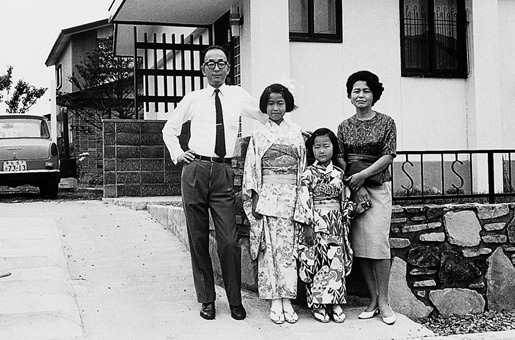 The Suzuki family, October 1969.