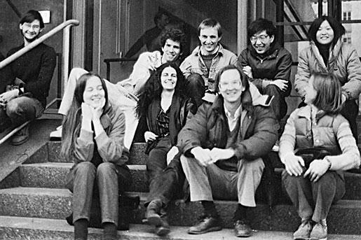 The Szostak lab, circa 1985