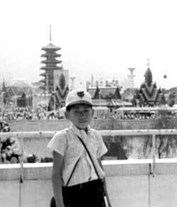 Expo '70 held in Osaka, Japan