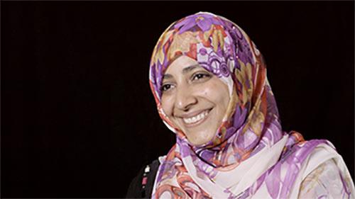 Portrait of Tawakkol Karman