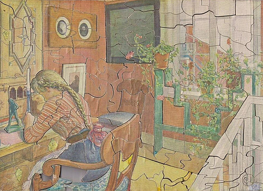 Jigsaw puzzle created by Hugo Theorell