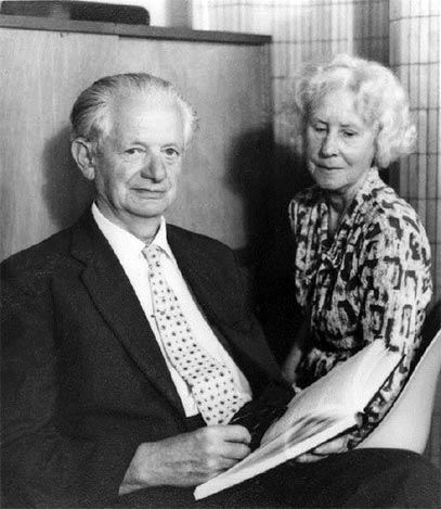 David Thouless' parents: Robert and Priscilla Thouless, early 1960s.
