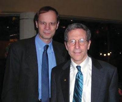 With PhD advisor Eric Maskin.
