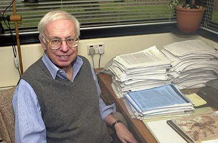 Tomas Lindahl. Photo taken in 2008. Photo: The Francis Crick Institute