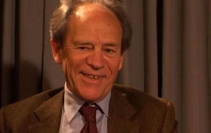 Torsten N. Wiesel during the interview