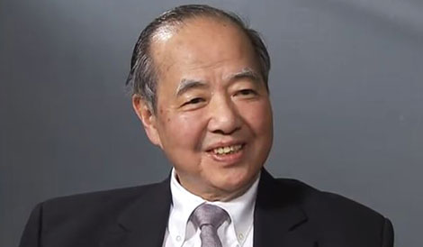 Tsung-Dao Lee during the interview