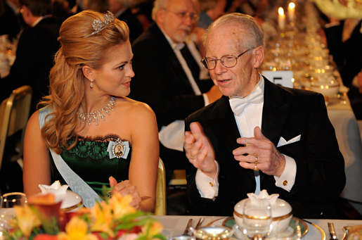 Oliver E. Williamson in conversation with Princess Madeleine