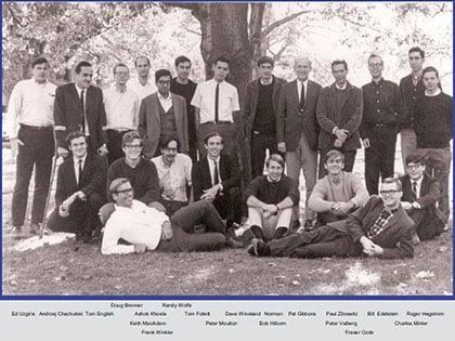 Norman Ramsey's group, Harvard (1966).