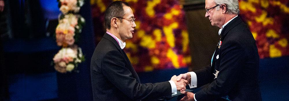 Shinya Yamanaka receives the Nobel Prize, © Alex Ljungdahl