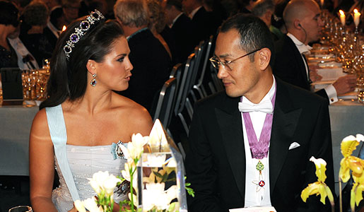 Swedish Princess Madeleine and Shinya Yamanaka at the Nobel Banquet