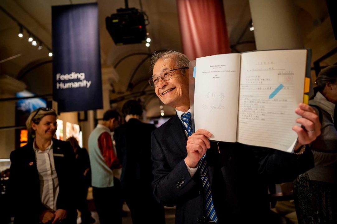 Chemistry Laureate Akira Yoshino