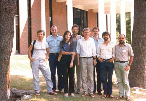 Albany reunion of former and then-present lab members