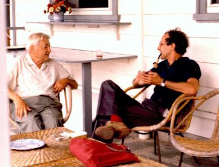 Jerrold Zacharias and Rainer Weiss