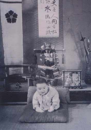Baby samurai