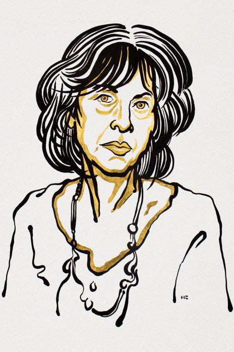 Louise Glückin kuva Nobel-sivustolta