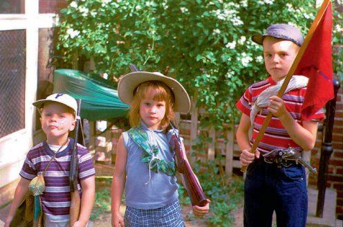 Eddy, Frances and Bill, 1961.