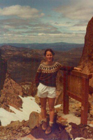 Hiking in the Sierras,