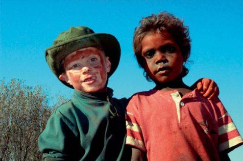 Joe and Australian friend