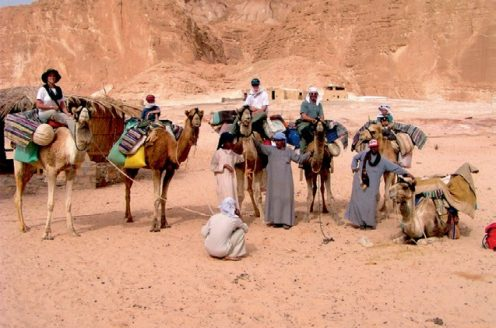 On a camel-trek
