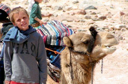 William and camel.