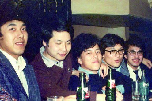 Students in Tokyo around 1979