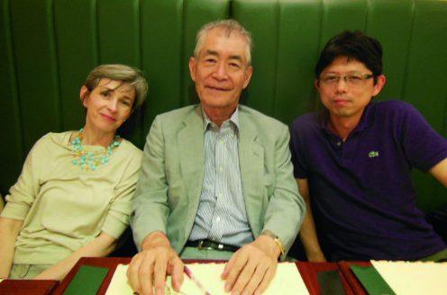 Sidonia Fagarasan, Tasuku Honjo and Masamichi Muramatsu