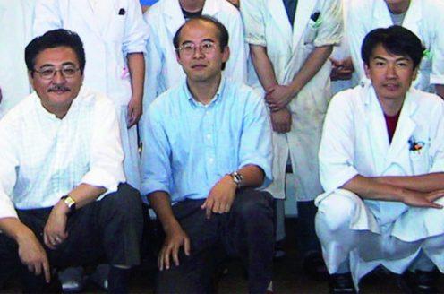 Nagahiro Minato, Masakazu Hattori and Yoshimasa Tanaka in 2000.